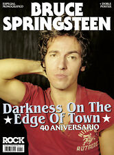 NEW!! BRUCE SPRINGSTEEN Special Spanish Magazine + Posters October 2018 40 Years