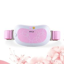 FITTOP Electric Vibrating Slimming Abdominal Therapy Warming Massager, Pink