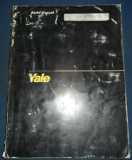 YALE MLW MPW MLE MPE-MPC ELECTRIC PALLET JACK LIFT TRUCK PARTS MANUAL BOOK 1449