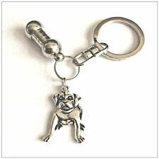 Pet Ashes Urn Jewellery Keyring. Pit - Bull Terrier Charm Keepsake Cremation