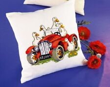 Car with Ducks Cross Stitch Kit by Permin