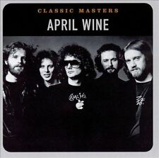 APRIL WINE - CLASSIC MASTERS  CD  24 Bit Digitally Remastered