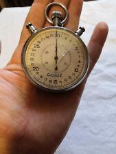 Stopwatch vintage soviet USSR working