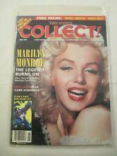 Tuff Stuff's Collect June 1994 Non-Sport Magazine w/ Marvel Universe Promo Sheet