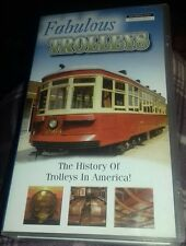vhs video fabulous trolleys the history of trolleys in America