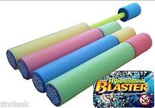 Set of 6 Foam Hydro Storm Water Blaster Pump Shooter Kids Toy Outdoor Summer Fun