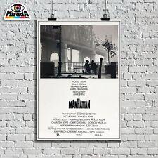 POSTER Manhattan Woody Allen film locandina commedia New York Grande Mela movie