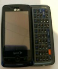 READ BEFORE BUY LG Rumor Touch LN510 Tello  Blue Cell Phone Very Good Used