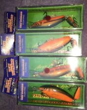 TCA 4 pcs Ugly Duckling Lures, Jointed Balsa Wood Lure, HANDCRAFTED, NEW In BOX
