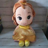 Disney Princess Toddler Belle XL Plush Toy Beauty & The Beast Posh Paws