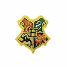 School Crest Badge (Iron On) Embroidery Applique Patch Sew Iron Badge