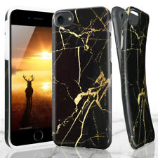 For Apple iPhone X/8/7 Plus Marble Pattern Rubber Soft TPU Protective Case Cover