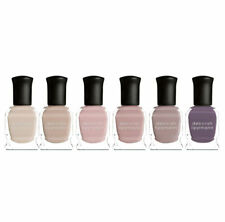 Deborah Lippmann Bed of Roses Shades of Rosy Nudes 6 Piece Set Brand New