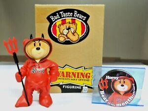 THE ORIGINAL 'HORNEY DEVIL' BAD TASTE BEAR FIGURE FOR FEB 2003 - NO 53 - BOXED.