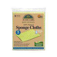 If You Care Compostable Sponge Cloths – 100% Natural – 5 Cloths