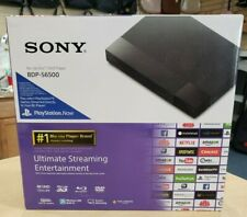 Sony BDP-S6500 3D Blu-ray Player w/ 4K Upscaling + Wi-Fi Brand New Sealed