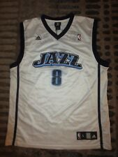 Utah Jazz #8 Williams Adidas NBA Jersey LG L mens