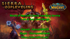 World of Warcraft Classic - 1-60 Power Level - ANY Class EU OR US Servers! WoW