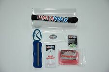SKI & SNOWBOARD Tuning Kit Base Cleaner Wax Edge Sharpener Instant Wipes Scraper