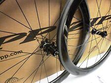 Zipp Firecrest 404 Carbon Clincher 77/177 Wheelset Shimano/SRAM Black