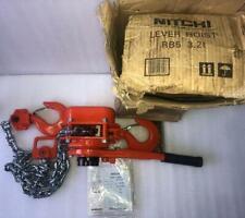 NITCHI RB5 Ratchet Lever Hoist 3.2t / 3200kg - Chain length: 1.5m