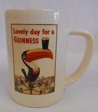 Guinness Tankard, 'Lovely Day for a Guinness', Toucan ad, official merchandise
