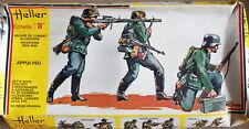 HELLER maquette diorama 1/35.allemagne appui feu german.référence 114.