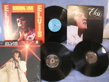 3 Records 1 Price! Elvis Presley, Burning Love/You'll Never/He Walks Beside Me