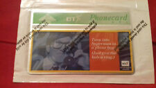 Phonecard BT - Turn Into Superman - Mint Condition - Sealed