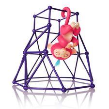 Fingerlings Bundle Aimee Pink Finn Black Rose Glitter Sophie Jungle Gym Playset