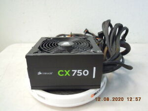 Corsair CX750 750Watts Power Supply * Model 75-001447 * P/N: CP-9020015 * Tested