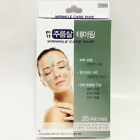 20 patches Anti-Wrinkle Care Tape Forehead Brow Laugh Lines & Eye Korean product