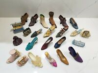 14 Just the Right Shoe Style Raine Lot Loose Miniature Shoes Plus much more