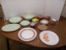 Vintage  MelMac dishes 42 Pc Mixed Lot - Mallo Ware Mar-Crest West Bend