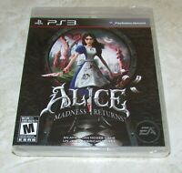 Alice: Madness Returns for Playstation 3 Brand New! Fast Shipping!
