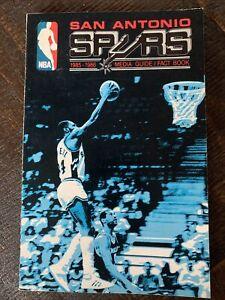 San Antonio Spurs 1985-86 Media Guide