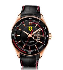 Scuderia Ferrari Orologio da Uomo 830185 Analogico Pelle Nero