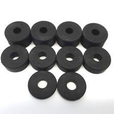 Caoutchouc épais Entretoises Standoff Rondelles 8 mm (Pack 10) 4 x 15 mm, 4 x 10 mm, 2 x 5 mm