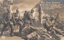 BG4082 des  konigs grenadiere soldiers  germany military militaria propaganda