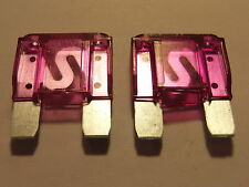 2 X 100amp MAXI BLADE FUSES 100A FOR CARS VANS TRUCKS MOTORHOMES AND MORE 2PACK