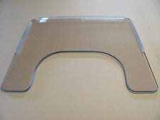 Wheel Chair Tray, 3/8 Lexan, Size 23.75 W X 21.25,  Rims Included, USA Made.