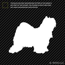 (2x) Tibetan Terrier Sticker Die Cut Decal Self Adhesive Vinyl dog canine pet