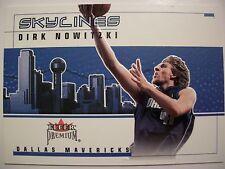 2002-03 FLEER PREMIUM SKYLINES DIRK NOWITZKI, DALLAS !! BOX # 46