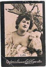 Vintage Ogden's Guinea Gold Cigarettes Lydia Tobacco Card