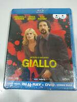 Giallo Adrien Brody Dario Argento - Blu-Ray + DVD Spagnolo Inglese nuevo