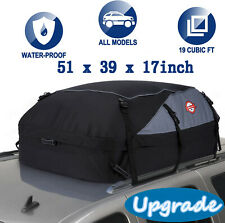 20 cu.ft. Car Van Roof Travel Cargo Bag Box Storage Rooftop Luggage Carrier