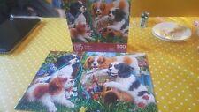 500 piece jigsaw puzzles - bundle of 2