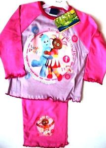 Girls In The Night Garden Upsy Daisy Iggle Piggle Pyjamas Set 18-24, 3-4 Years