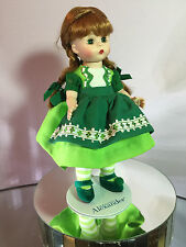 """Madame Alexander Accessories Original green dress, tights, shoes for 8"""" doll"""