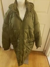American Eagle Women's Green Olive Hooded Puffer Coat Size XXL